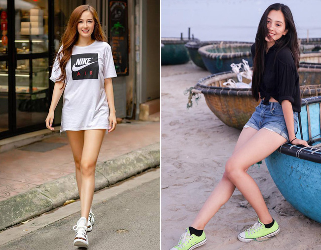 """Giống nhau đến bất ngờ, Mai Phương Thúy và Trần Tiểu Vy cứ như cặp chị em thất lạc"""" mới của showbiz Việt - Ảnh 5."""
