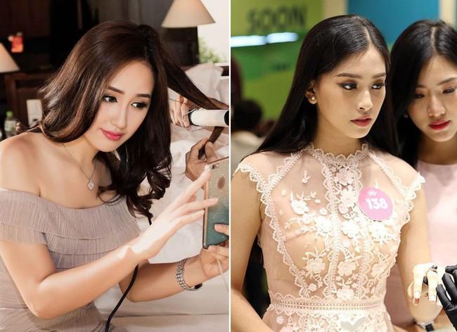 """Giống nhau đến bất ngờ, Mai Phương Thúy và Trần Tiểu Vy cứ như cặp chị em thất lạc"""" mới của showbiz Việt - Ảnh 7."""