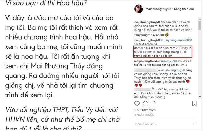 """Giống nhau đến bất ngờ, Mai Phương Thúy và Trần Tiểu Vy cứ như cặp chị em thất lạc"""" mới của showbiz Việt - Ảnh 2."""
