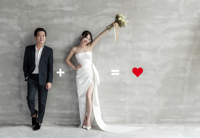 Sau bao lần chờ đợi, bộ ảnh cưới tuyệt đẹp của Nhã Phương - Trường Giang cũng đã được hé lộ  - Ảnh 4.