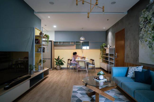Căn hộ chung cư đầy an yên và rực rỡ sắc màu của cặp vợ chồng trẻ ở Sài Gòn - Ảnh 2.