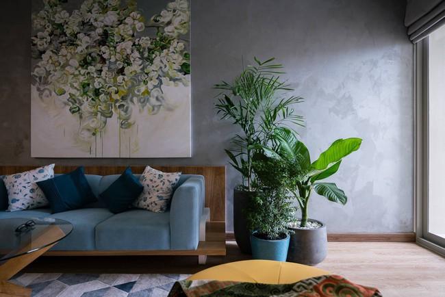 Căn hộ chung cư đầy an yên và rực rỡ sắc màu của cặp vợ chồng trẻ ở Sài Gòn - Ảnh 4.