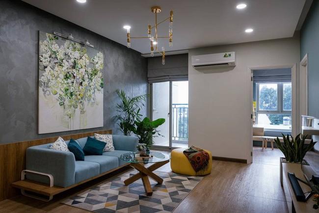 Căn hộ chung cư đầy an yên và rực rỡ sắc màu của cặp vợ chồng trẻ ở Sài Gòn - Ảnh 3.