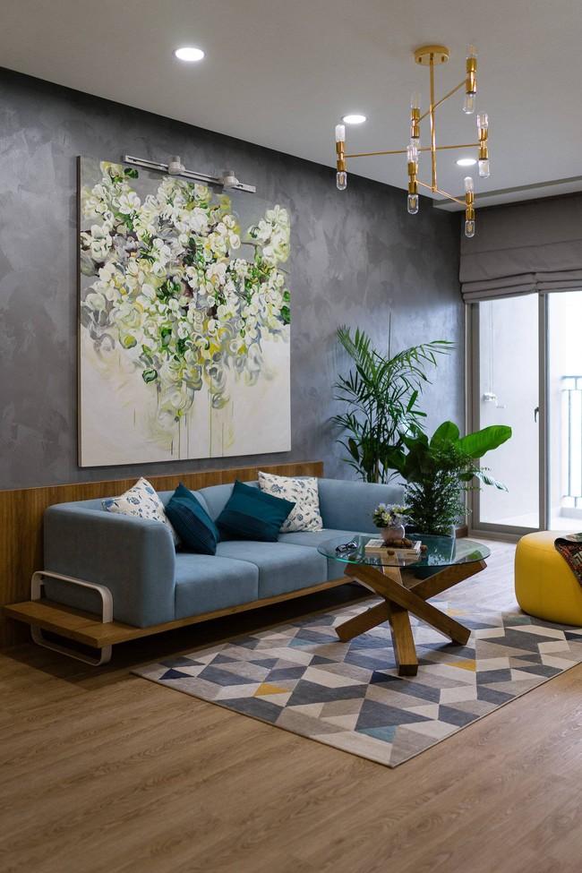 Căn hộ chung cư đầy an yên và rực rỡ sắc màu của cặp vợ chồng trẻ ở Sài Gòn - Ảnh 5.