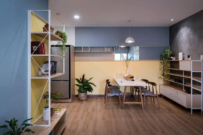 Căn hộ chung cư đầy an yên và rực rỡ sắc màu của cặp vợ chồng trẻ ở Sài Gòn - Ảnh 8.