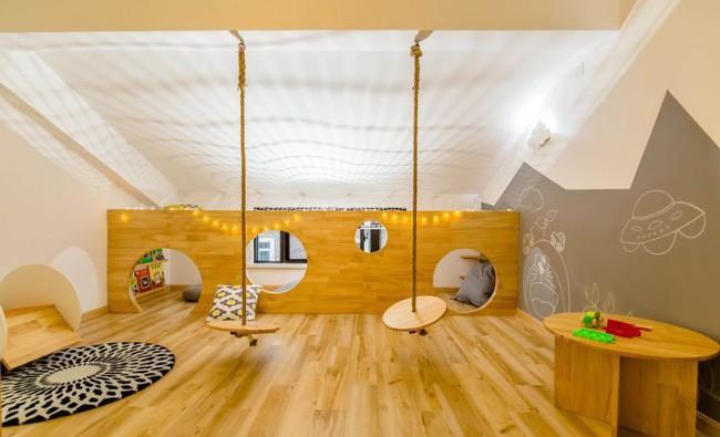 Ngôi nhà 3 tầng với điểm nhấn màu vàng ấm cúng của mẹ hai con ở Thượng Hải - Ảnh 19.