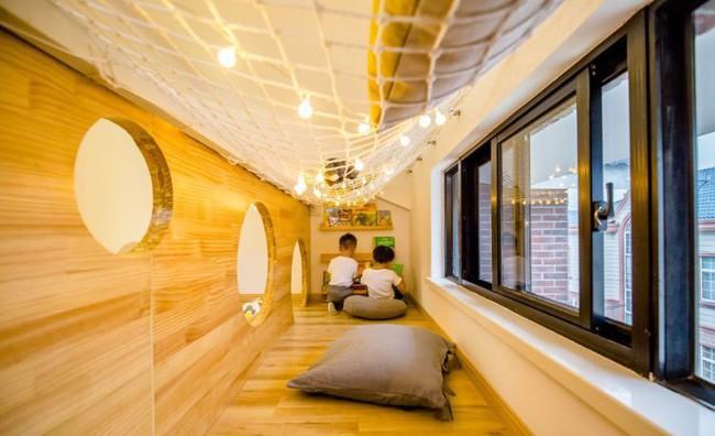 Ngôi nhà 3 tầng với điểm nhấn màu vàng ấm cúng của mẹ hai con ở Thượng Hải - Ảnh 18.