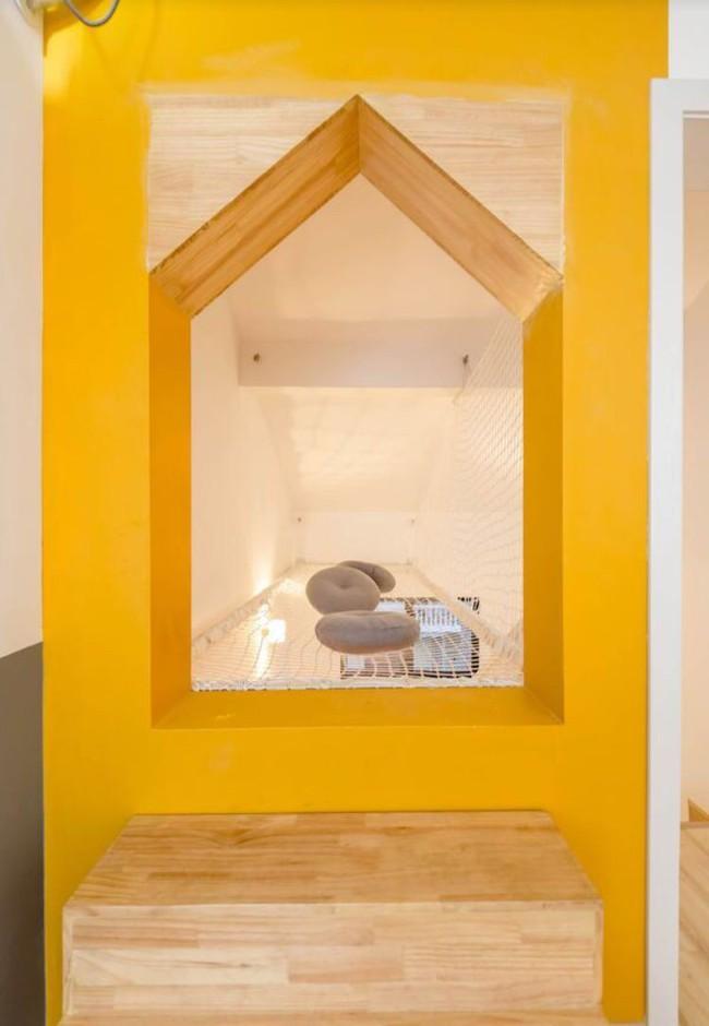 Ngôi nhà 3 tầng với điểm nhấn màu vàng ấm cúng của mẹ hai con ở Thượng Hải - Ảnh 17.