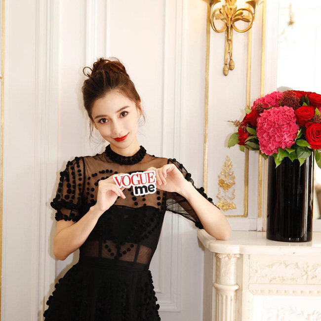 Angela Baby mặc váy đen mà nổi bần bật, Gong Hyo Jin diện nguyên set đồ người mẫu dự show Dior - Ảnh 1.