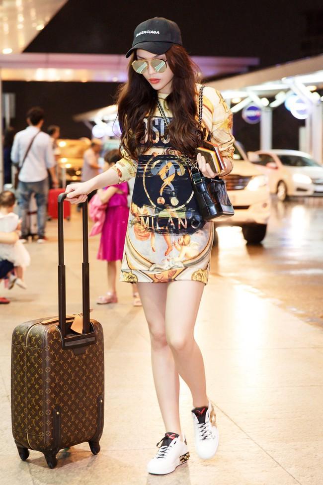 Trước thềm Paris Fashion Week, Kỳ Duyên chuẩn bị hành trang quần áo toàn là loạt đồ hiệu xa xỉ - Ảnh 3.