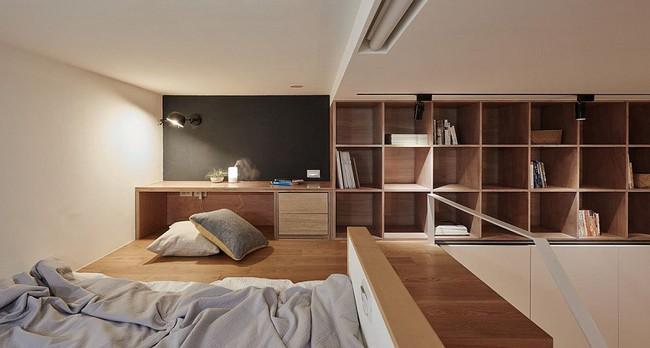 Nếu là người thông  minh thì nhà nhỏ đến đâu cũng có thể thiết kế được phòng ngủ đẹp - Ảnh 1.