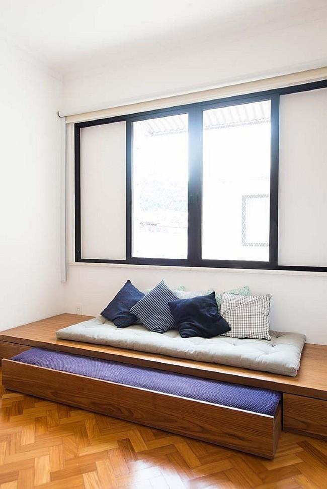 Nếu là người thông  minh thì nhà nhỏ đến đâu cũng có thể thiết kế được phòng ngủ đẹp - Ảnh 10.