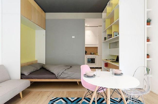 Nếu là người thông  minh thì nhà nhỏ đến đâu cũng có thể thiết kế được phòng ngủ đẹp - Ảnh 11.