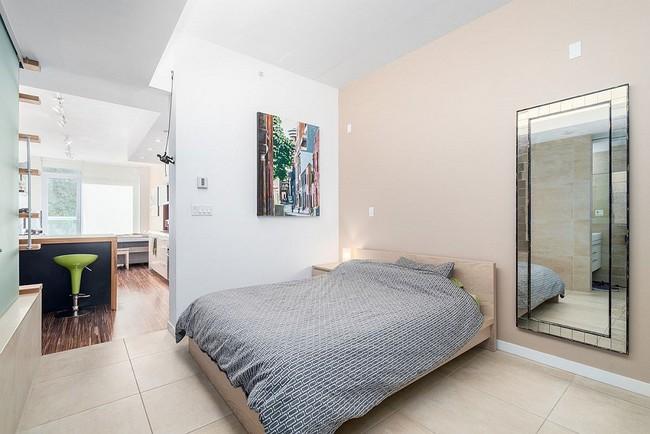 Nếu là người thông  minh thì nhà nhỏ đến đâu cũng có thể thiết kế được phòng ngủ đẹp - Ảnh 12.