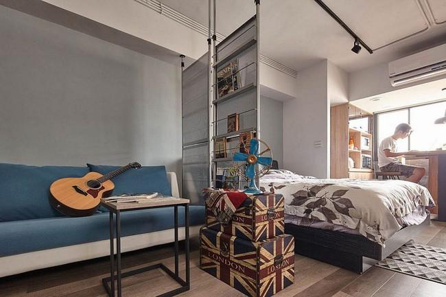 Nếu là người thông  minh thì nhà nhỏ đến đâu cũng có thể thiết kế được phòng ngủ đẹp - Ảnh 13.