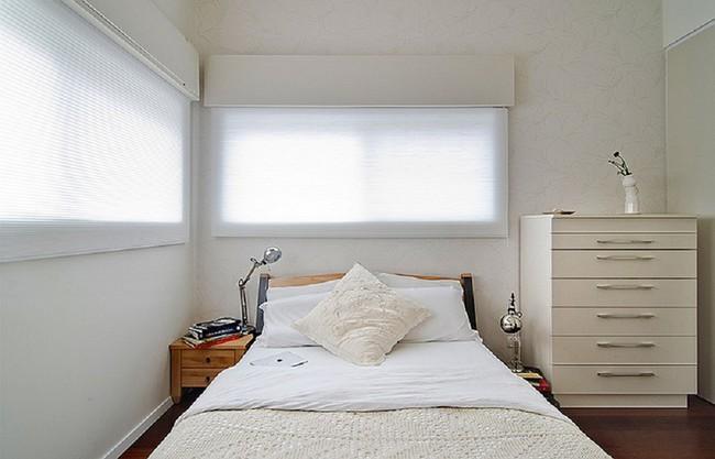 Nếu là người thông  minh thì nhà nhỏ đến đâu cũng có thể thiết kế được phòng ngủ đẹp - Ảnh 18.