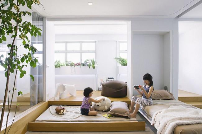 Nếu là người thông  minh thì nhà nhỏ đến đâu cũng có thể thiết kế được phòng ngủ đẹp - Ảnh 2.