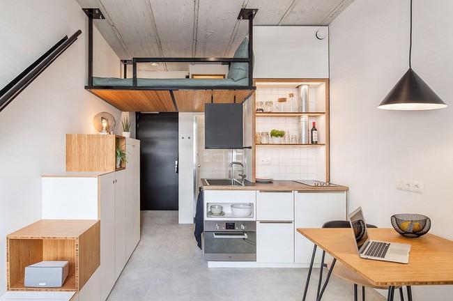 Nếu là người thông  minh thì nhà nhỏ đến đâu cũng có thể thiết kế được phòng ngủ đẹp - Ảnh 3.