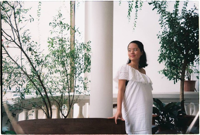 Con gái lớn Hồng Mi của nghệ sĩ Chiều Xuân dù khoe bụng bầu lần 2 vẫn xinh đẹp xuất sắc - Ảnh 4.