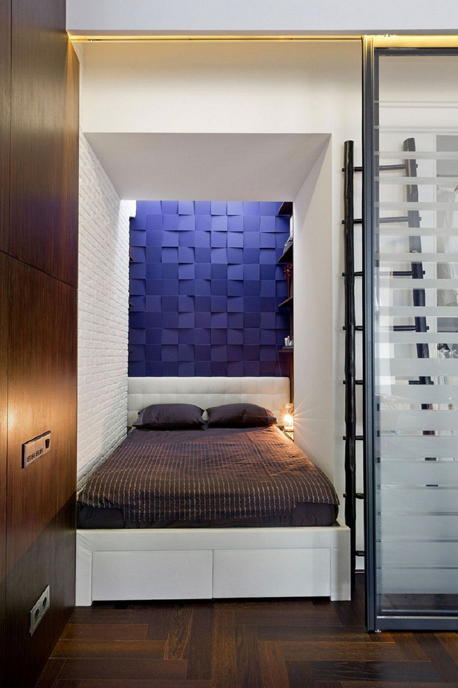Nếu là người thông  minh thì nhà nhỏ đến đâu cũng có thể thiết kế được phòng ngủ đẹp - Ảnh 6.