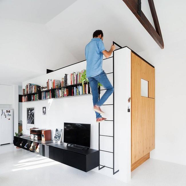 Nếu là người thông  minh thì nhà nhỏ đến đâu cũng có thể thiết kế được phòng ngủ đẹp - Ảnh 7.
