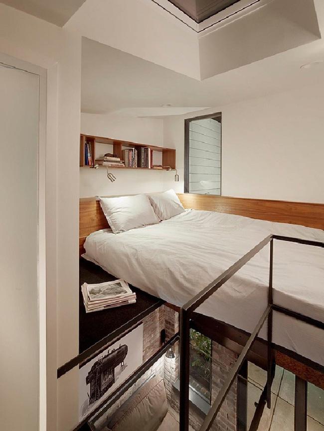 Nếu là người thông  minh thì nhà nhỏ đến đâu cũng có thể thiết kế được phòng ngủ đẹp - Ảnh 8.