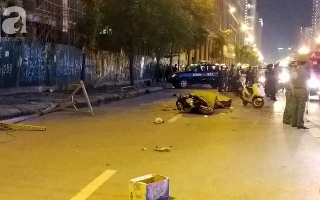 Khởi tố vụ thanh sắt rơi từ công trình cao tầng khiến bà mẹ đơn thân tử vong trên đường Lê Văn Lương - Ảnh 1.