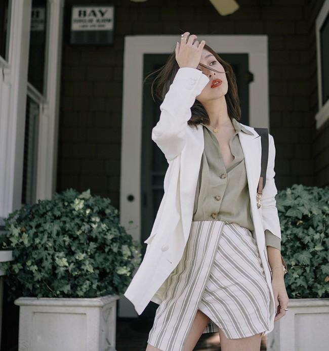 15 cách biến hóa với áo blazer chuẩn thời thượng mà các nàng sẽ muốn diện suốt cả mùa Thu/Đông này - Ảnh 6.