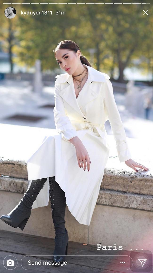 Cùng dự show thời trang tại Paris Fashion Week, đến cả chị đẹp Dara cũng phải lép vế trước Kỳ Duyên - Ảnh 2.