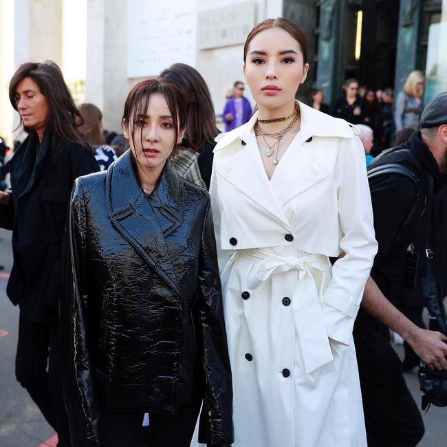 Cùng dự show thời trang tại Paris Fashion Week, đến cả chị đẹp Dara cũng phải lép vế trước Kỳ Duyên - Ảnh 5.
