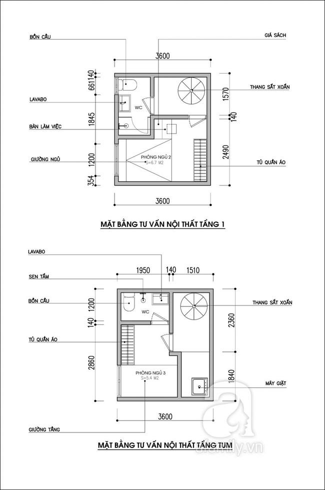 Tư vấn thiết kế nhà ống chỉ vỏn vẹn 15m² cho 3 thế hệ cùng sinh sống - Ảnh 2.