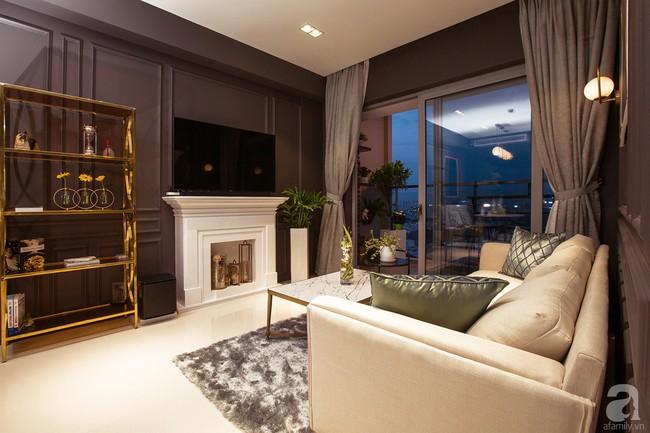 Ngắm căn hộ 82m² đậm chất nam tính của gia chủ thích tiếp đón bạn bè ở TP. HCM - Ảnh 3.