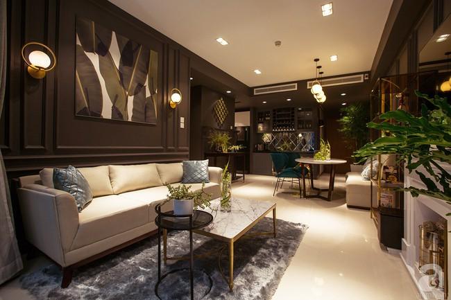 Ngắm căn hộ 82m² đậm chất nam tính của gia chủ thích tiếp đón bạn bè ở TP. HCM - Ảnh 2.