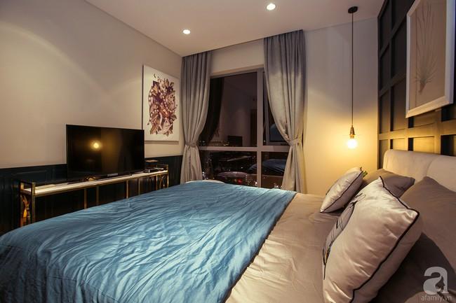Ngắm căn hộ 82m² đậm chất nam tính của gia chủ thích tiếp đón bạn bè ở TP. HCM - Ảnh 11.