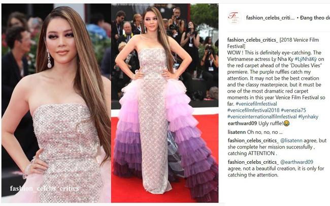 Makeup lỗi, Lý Nhã Kỳ còn khiến fan hết hồn khi diện váy sến rện và vướng nghi án mặc đồ nhái - Ảnh 6.