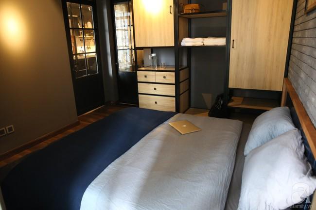 Không phải gam màu sáng trẻ trung, căn hộ nhỏ một phòng ngủ này đẹp lạ với tông màu ấm áp ở Bình Thạnh, TP HCM - Ảnh 10.