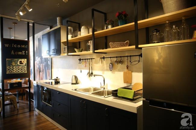 Không phải gam màu sáng trẻ trung, căn hộ nhỏ một phòng ngủ này đẹp lạ với tông màu ấm áp ở Bình Thạnh, TP HCM - Ảnh 7.