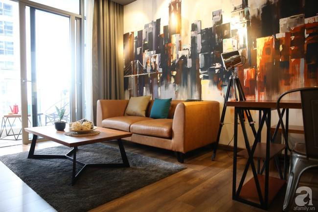 Không phải gam màu sáng trẻ trung, căn hộ nhỏ một phòng ngủ này đẹp lạ với tông màu ấm áp ở Bình Thạnh, TP HCM - Ảnh 2.