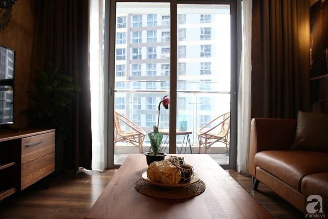 Không phải gam màu sáng trẻ trung, căn hộ nhỏ một phòng ngủ này đẹp lạ với tông màu ấm áp ở Bình Thạnh, TP HCM - Ảnh 4.