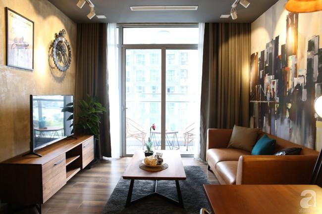 Không phải gam màu sáng trẻ trung, căn hộ nhỏ một phòng ngủ này đẹp lạ với tông màu ấm áp ở Bình Thạnh, TP HCM - Ảnh 3.