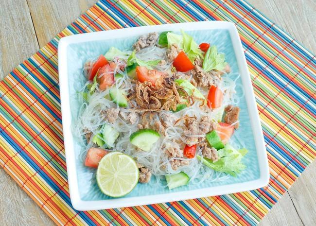 Bún trộn kiểu Thái ăn một lần thôi là mê mệt - Ảnh 5.