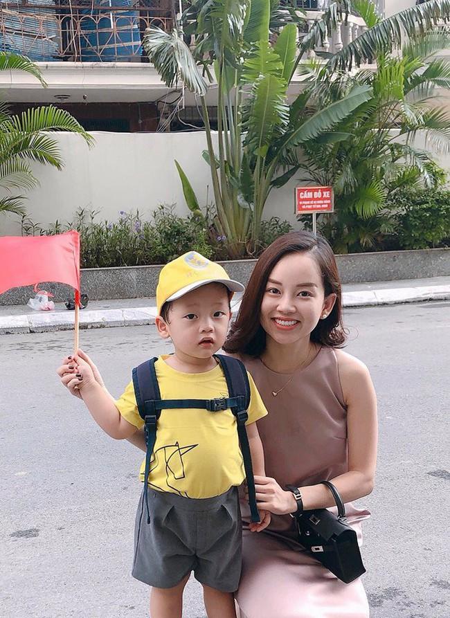 Xem loạt nhóc tỳ nhà sao Việt xúng xính đồng phục dự lễ khai giảng đầu năm học mới - Ảnh 7.