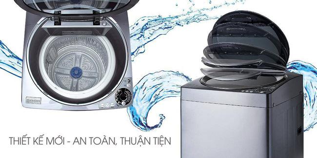 Mẹo tiết kiệm nước khi giặt máy trong mùa mưa - Ảnh 4.