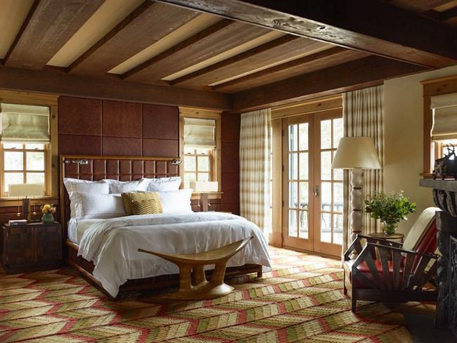 Đã mắt nhìn ngắm những căn phòng ngủ đẹp mơ màng với thiết kế cửa kiểu Pháp - Ảnh 12.