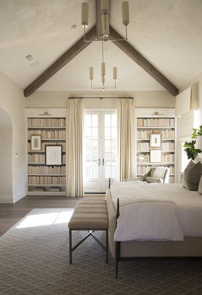 Đã mắt nhìn ngắm những căn phòng ngủ đẹp mơ màng với thiết kế cửa kiểu Pháp - Ảnh 14.