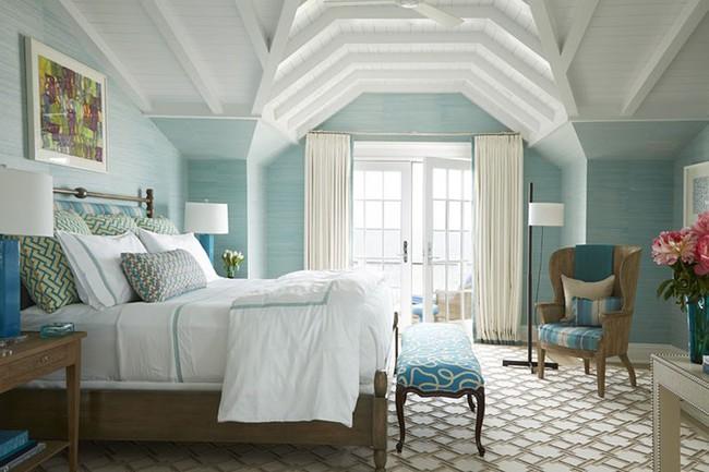 Đã mắt nhìn ngắm những căn phòng ngủ đẹp mơ màng với thiết kế cửa kiểu Pháp - Ảnh 2.