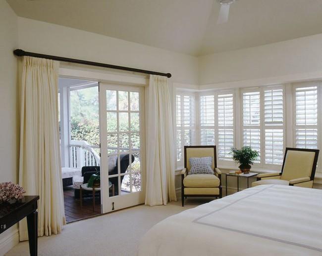 Đã mắt nhìn ngắm những căn phòng ngủ đẹp mơ màng với thiết kế cửa kiểu Pháp - Ảnh 18.