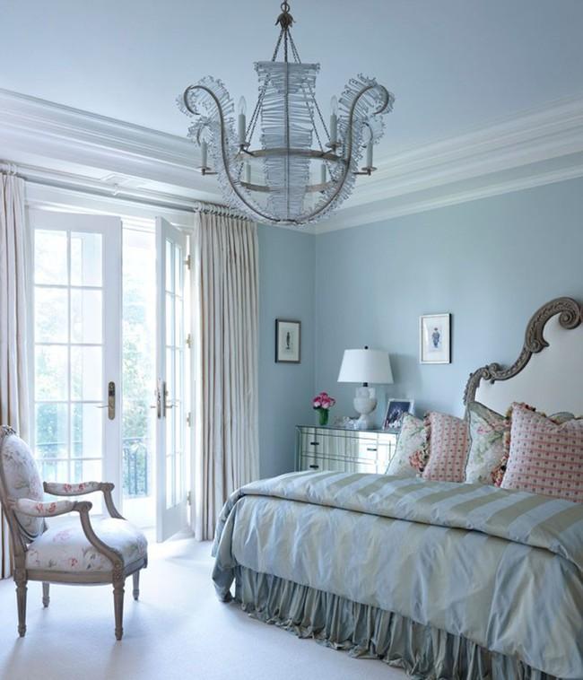 Đã mắt nhìn ngắm những căn phòng ngủ đẹp mơ màng với thiết kế cửa kiểu Pháp - Ảnh 19.