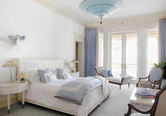 Đã mắt nhìn ngắm những căn phòng ngủ đẹp mơ màng với thiết kế cửa kiểu Pháp - Ảnh 7.