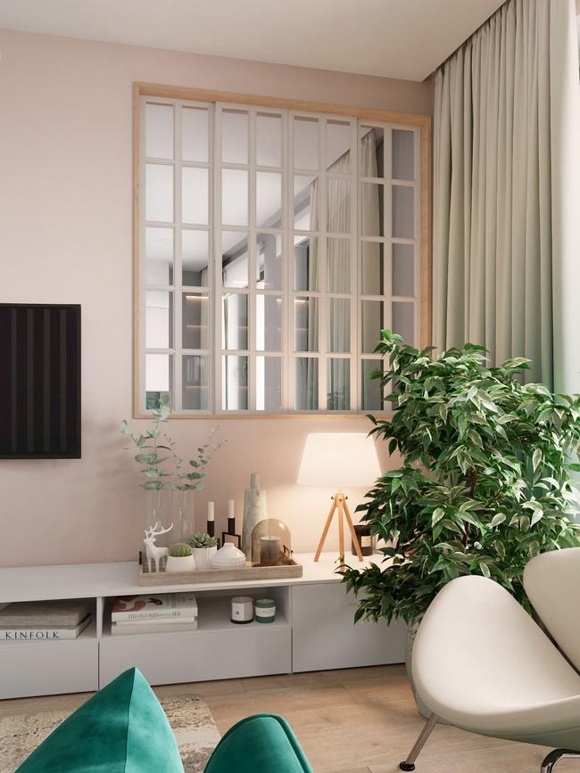 Căn hộ sở hữu một vườn cây xanh trong nhà này sẽ khiến bạn cảm thấy mát rượi tâm hồn ngay khi nhìn thấy - Ảnh 3.